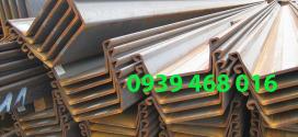 Cừ larsen (loại VI): 600 x 210 x 18 x 18000 mm
